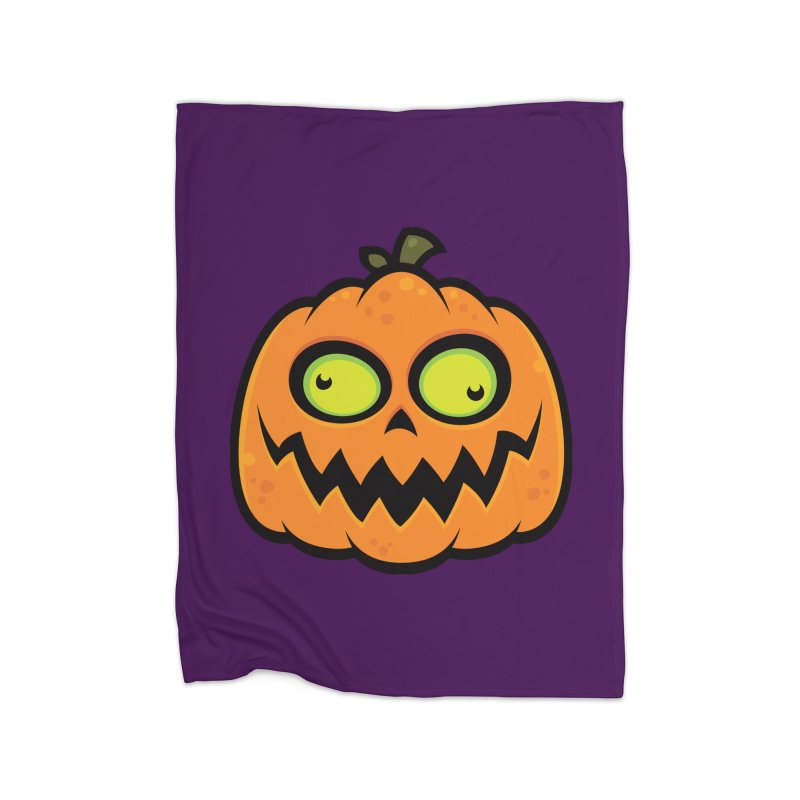 Crazy Pumpkin Home Blanket by Fizzgig's Artist Shop
