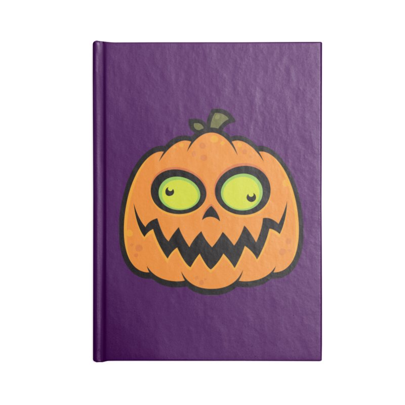 Crazy Pumpkin Accessories Notebook by Fizzgig's Artist Shop