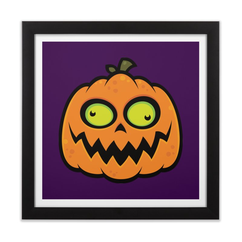 Crazy Pumpkin Home Framed Fine Art Print by Fizzgig's Artist Shop