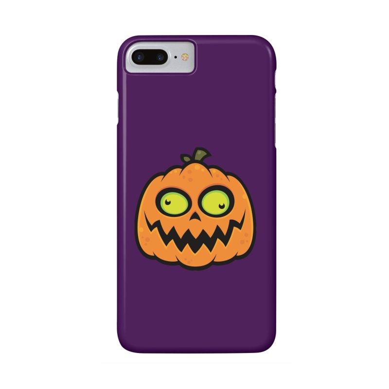 Crazy Pumpkin Accessories Phone Case by Fizzgig's Artist Shop