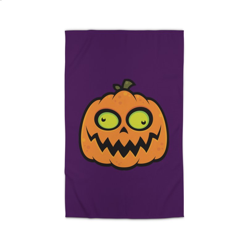 Crazy Pumpkin Home Rug by Fizzgig's Artist Shop