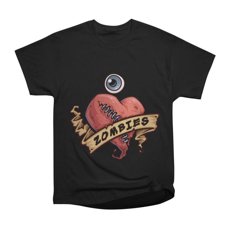 I Love Zombies Men's Classic T-Shirt by Fizzgig's Artist Shop