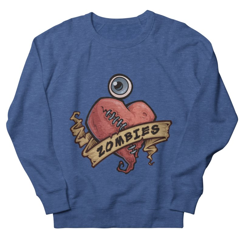 I Love Zombies Women's Sweatshirt by Fizzgig's Artist Shop