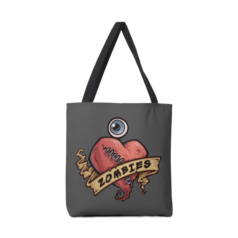 I Love Zombies Accessories Bag by Fizzgig's Artist Shop