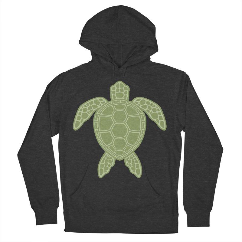Green Sea Turtle Women's Pullover Hoody by Fizzgig's Artist Shop