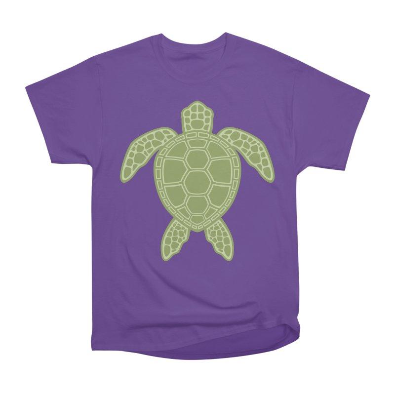 Green Sea Turtle Men's Classic T-Shirt by Fizzgig's Artist Shop