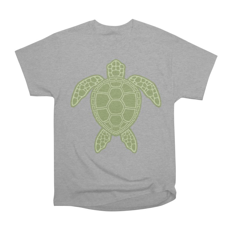 Green Sea Turtle Women's Classic Unisex T-Shirt by Fizzgig's Artist Shop