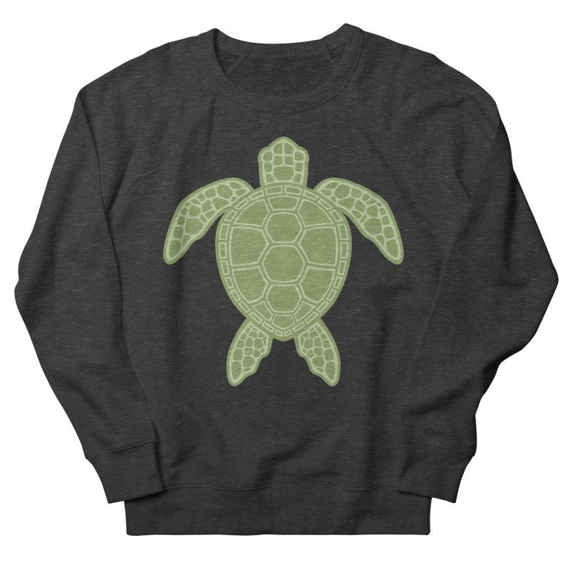 Green Sea Turtle Men's Sweatshirt by Fizzgig's Artist Shop