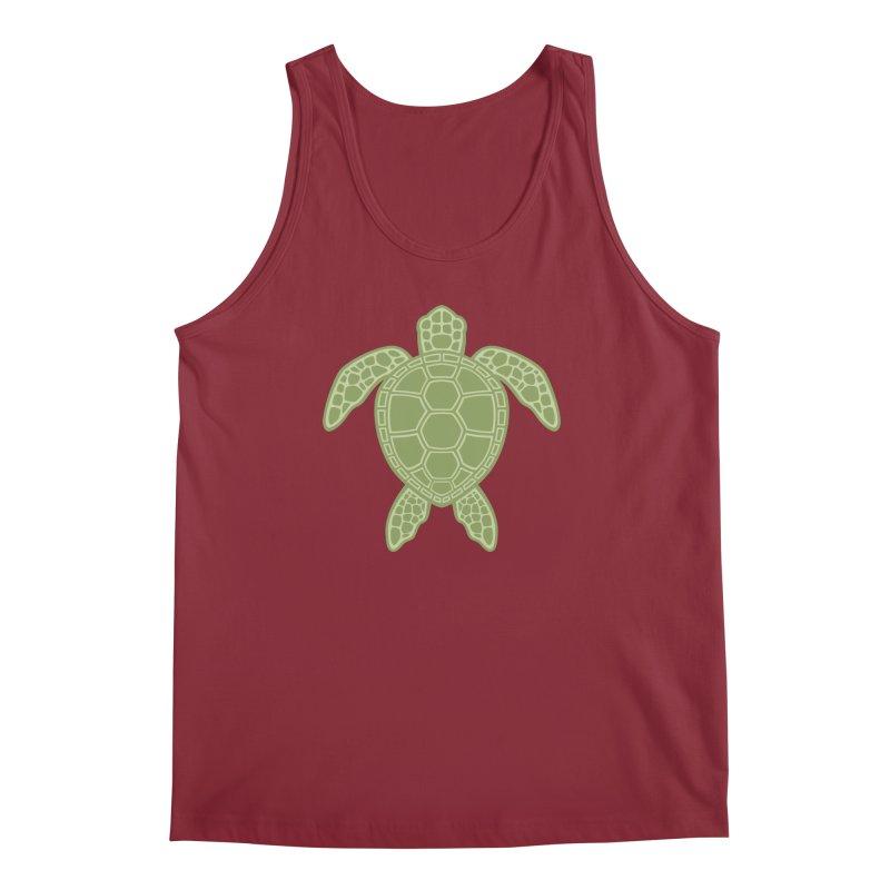 Green Sea Turtle Men's Tank by Fizzgig's Artist Shop