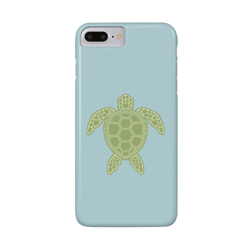 Green Sea Turtle Accessories Phone Case by Fizzgig's Artist Shop
