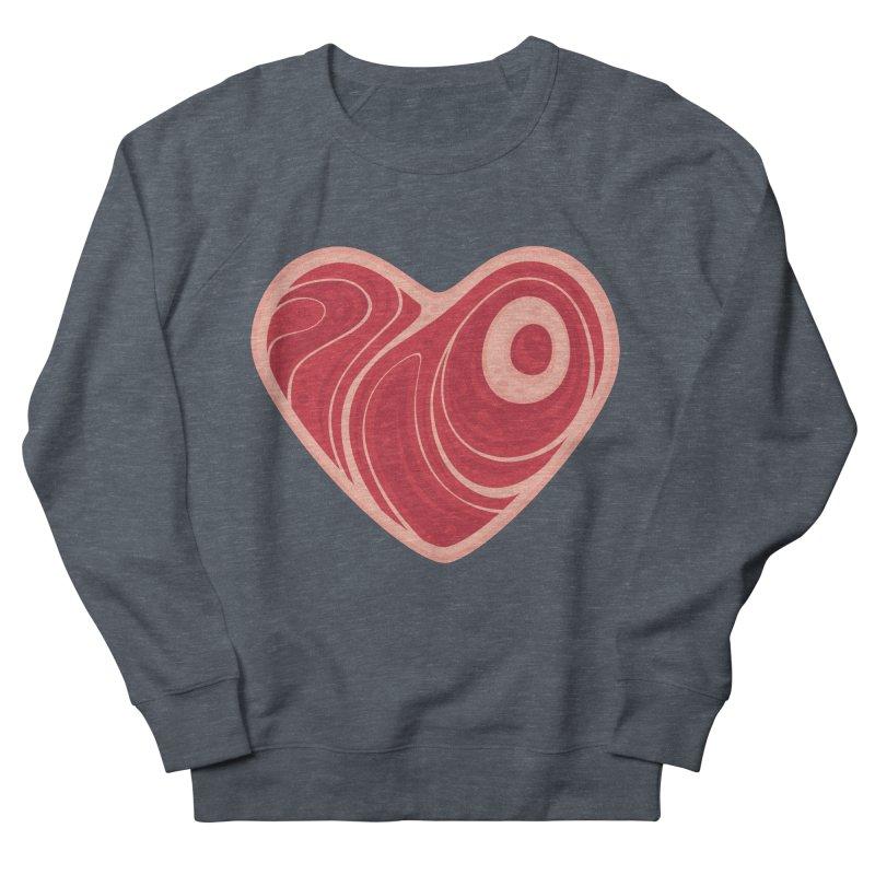 Meat Heart Women's Sweatshirt by Fizzgig's Artist Shop