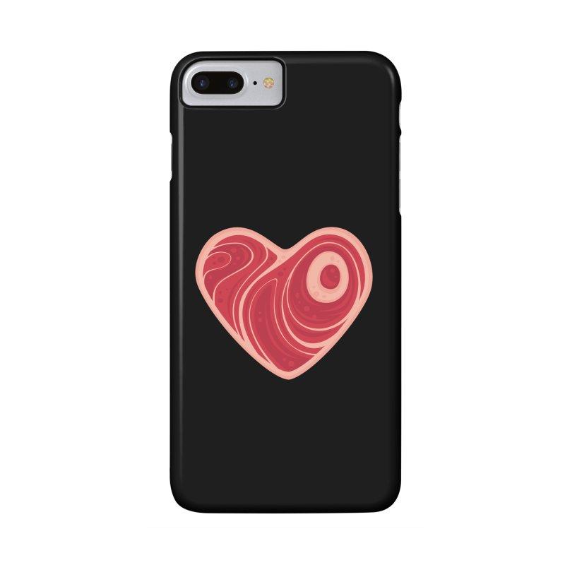 Meat Heart Accessories Phone Case by Fizzgig's Artist Shop