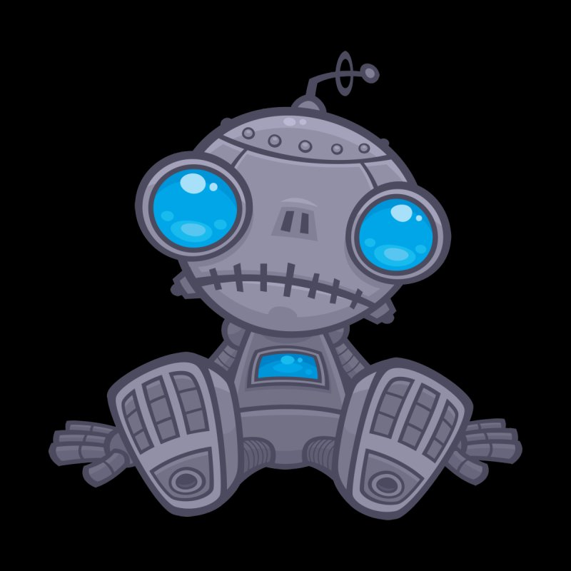 Sad Robot None  by Fizzgig's Artist Shop