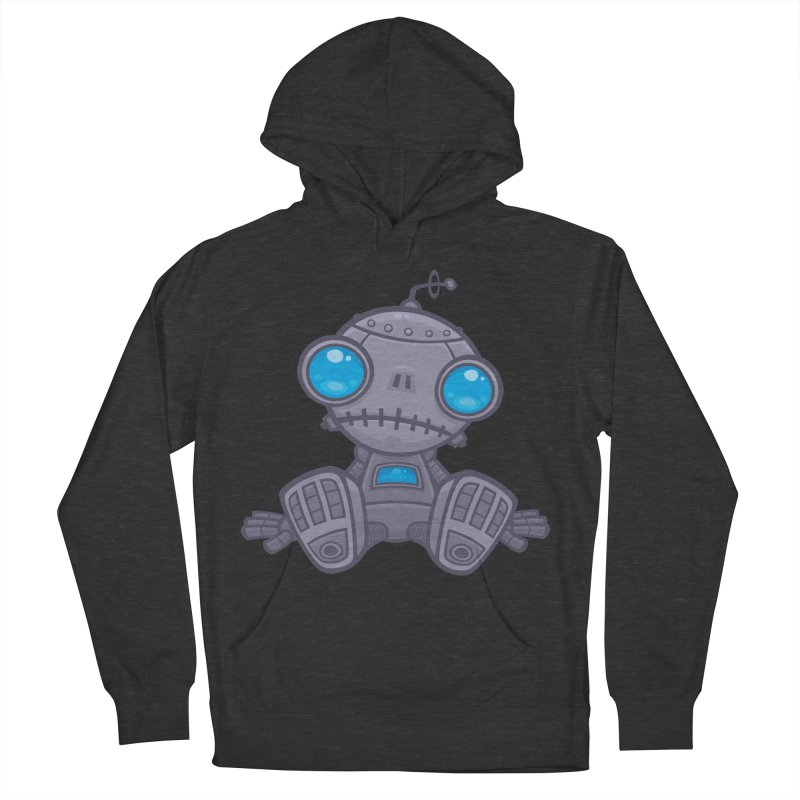 Sad Robot Men's Pullover Hoody by Fizzgig's Artist Shop