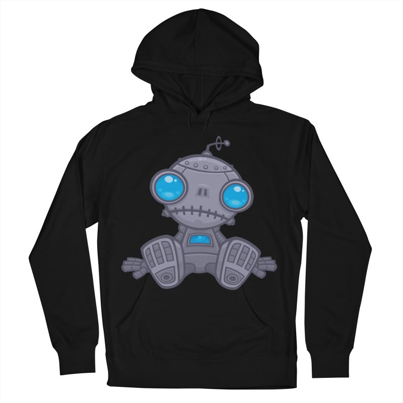 Sad Robot Men's Pullover Hoody by Fizzgig's Artist Shop