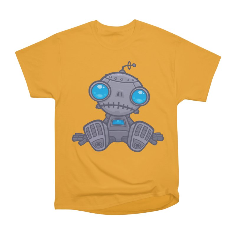 Sad Robot Women's Classic Unisex T-Shirt by Fizzgig's Artist Shop