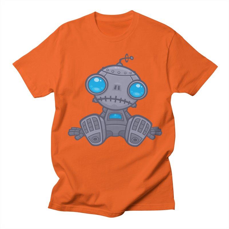 Sad Robot Women's Unisex T-Shirt by Fizzgig's Artist Shop