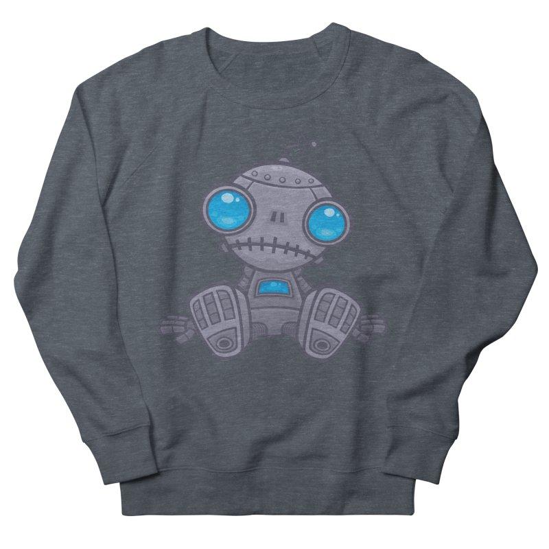 Sad Robot Women's Sweatshirt by Fizzgig's Artist Shop