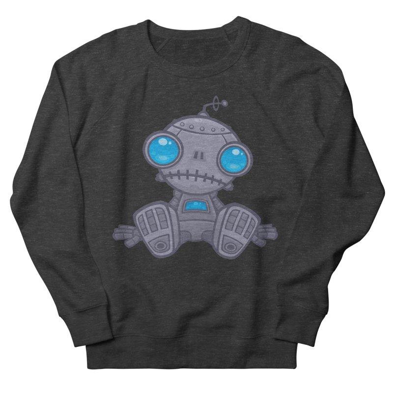 Sad Robot Men's Sweatshirt by Fizzgig's Artist Shop