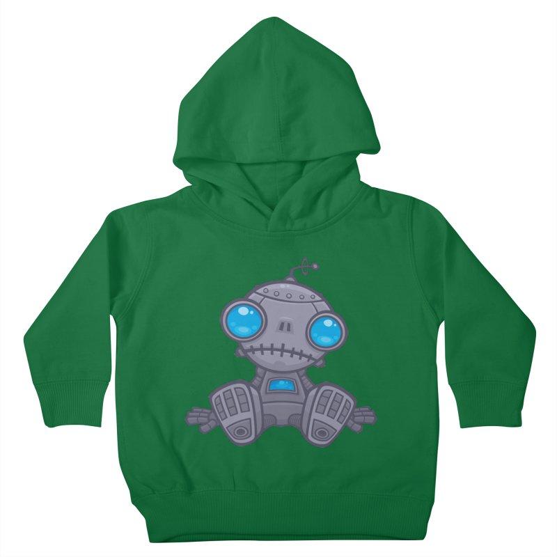 Sad Robot Kids Toddler Pullover Hoody by Fizzgig's Artist Shop
