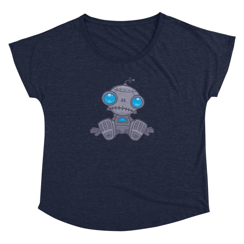 Sad Robot Women's Dolman by Fizzgig's Artist Shop
