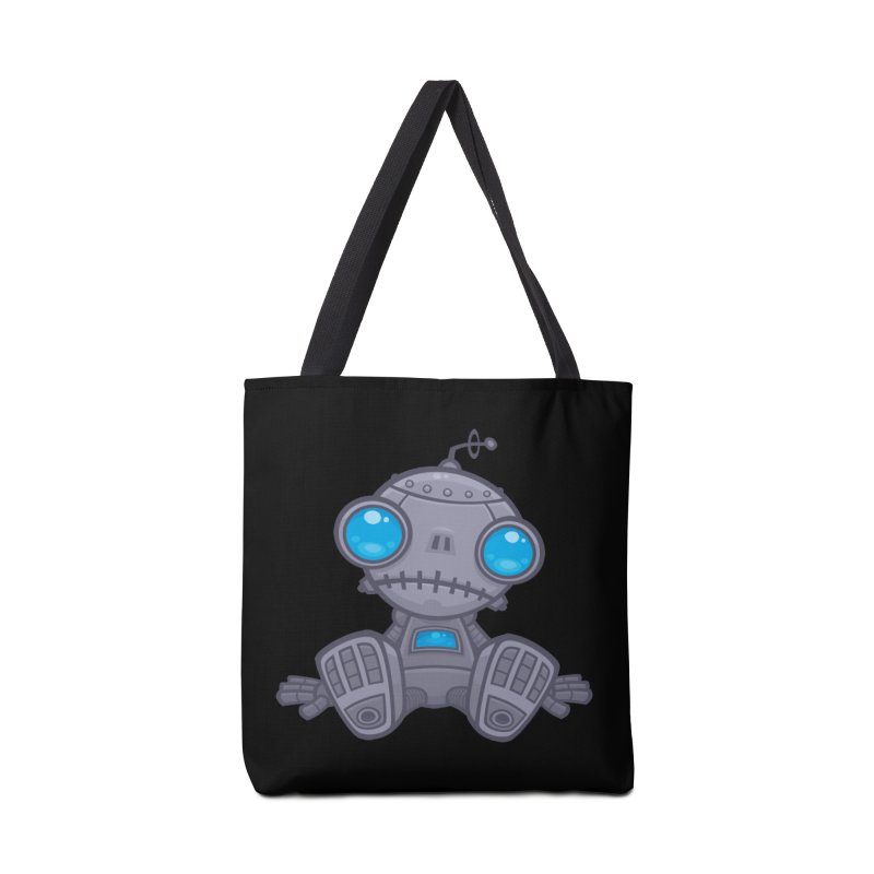 Sad Robot Accessories Bag by Fizzgig's Artist Shop