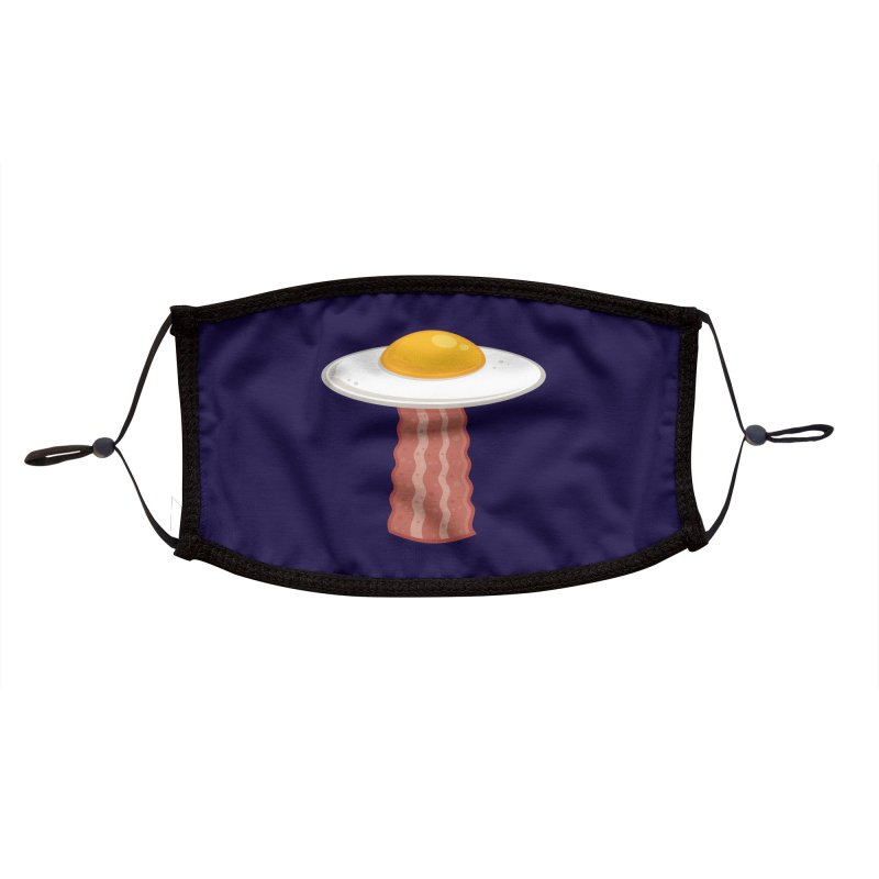 Eggstraterrestrial Accessories Face Mask by Fizzgig's Artist Shop