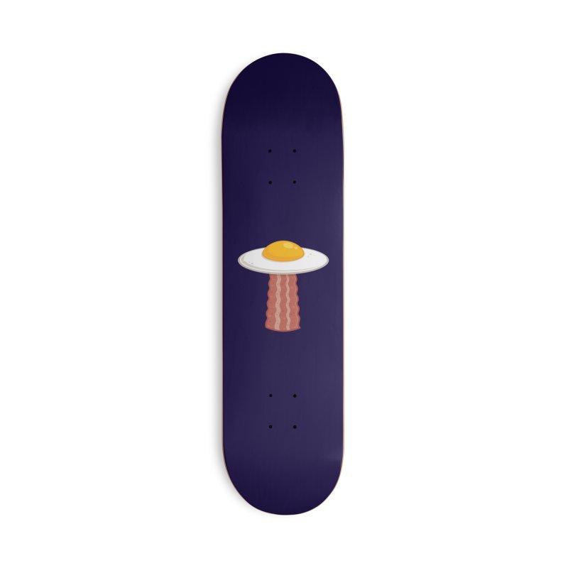 Eggstraterrestrial Accessories Skateboard by Fizzgig's Artist Shop