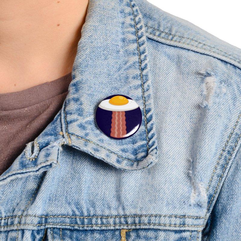 Eggstraterrestrial Accessories Button by Fizzgig's Artist Shop