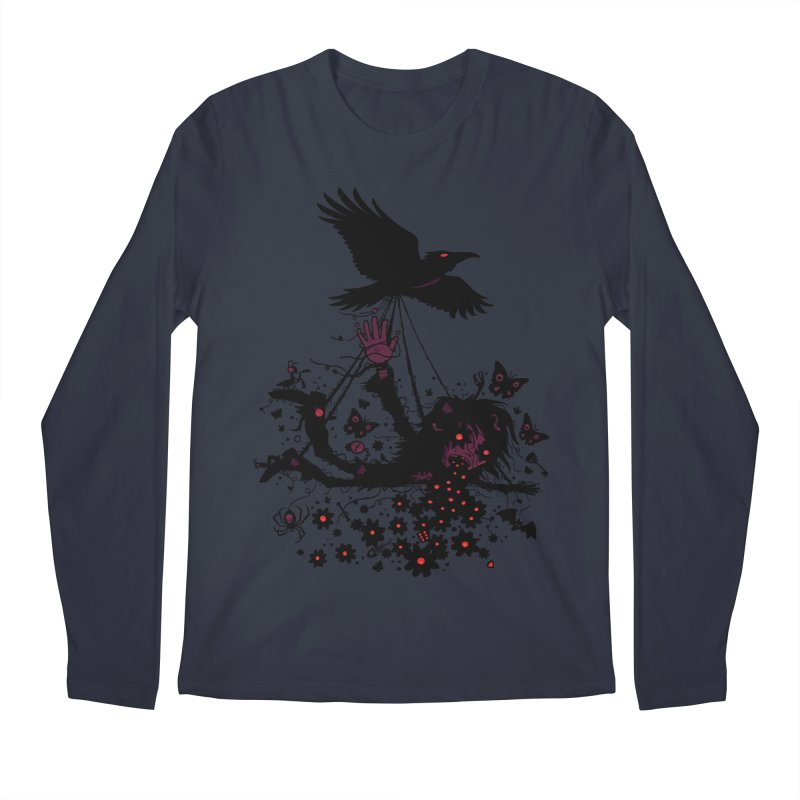 Strange Trip Through The Sky Men's Longsleeve T-Shirt by Fizzgig's Artist Shop