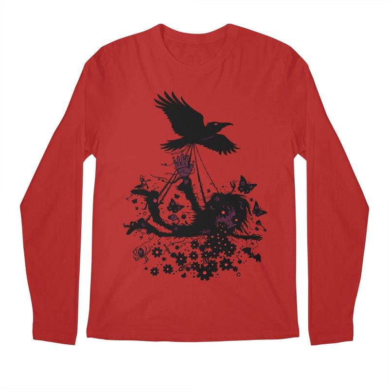 To The Sky Men's Longsleeve T-Shirt by Fizzgig's Artist Shop