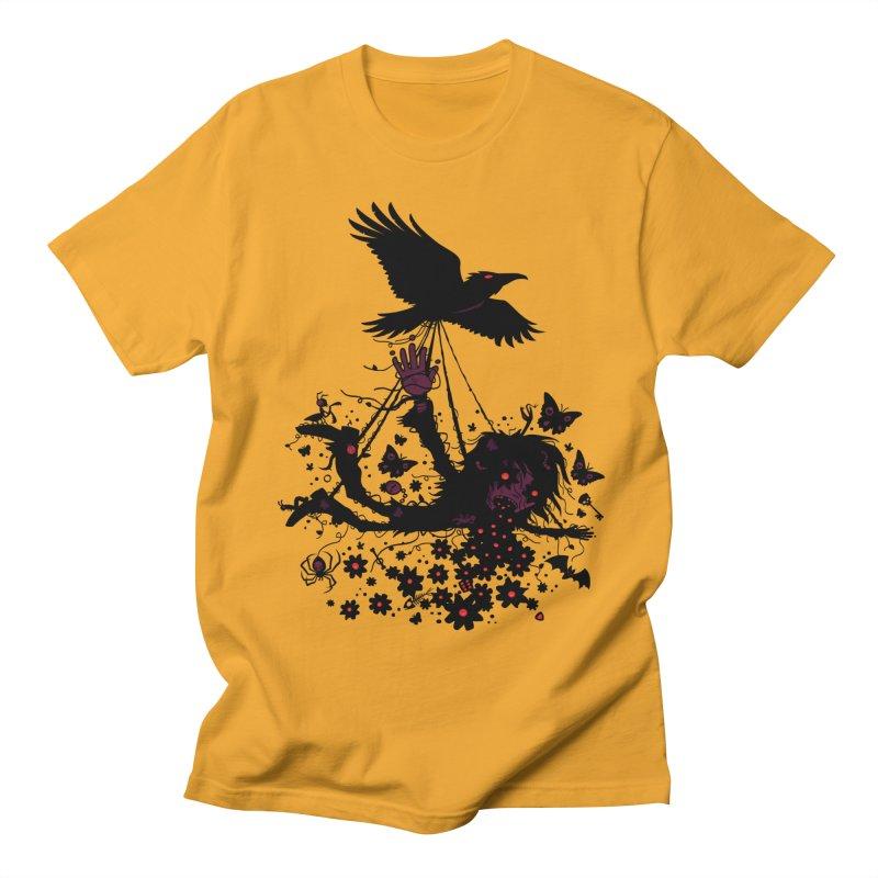 To The Sky Men's T-shirt by Fizzgig's Artist Shop