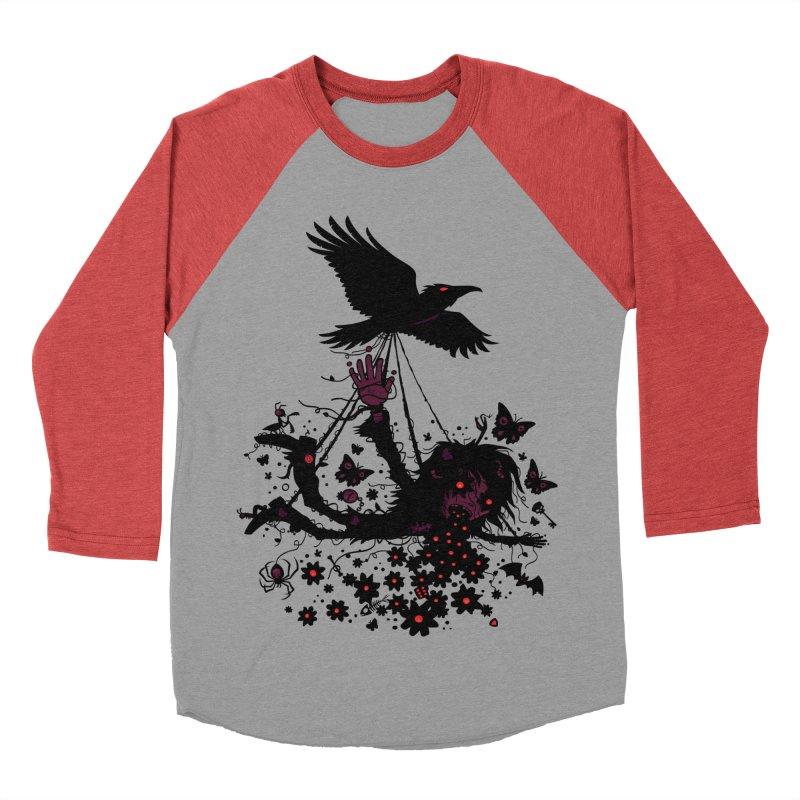 To The Sky Women's Baseball Triblend T-Shirt by Fizzgig's Artist Shop