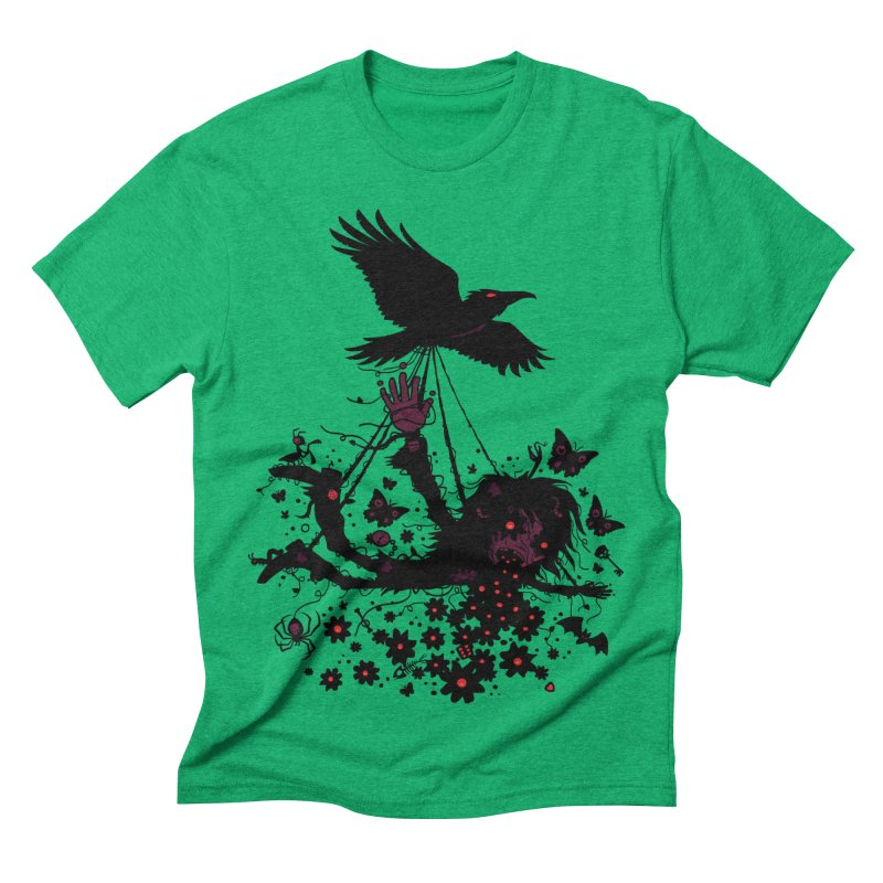 To The Sky Men's Triblend T-shirt by Fizzgig's Artist Shop