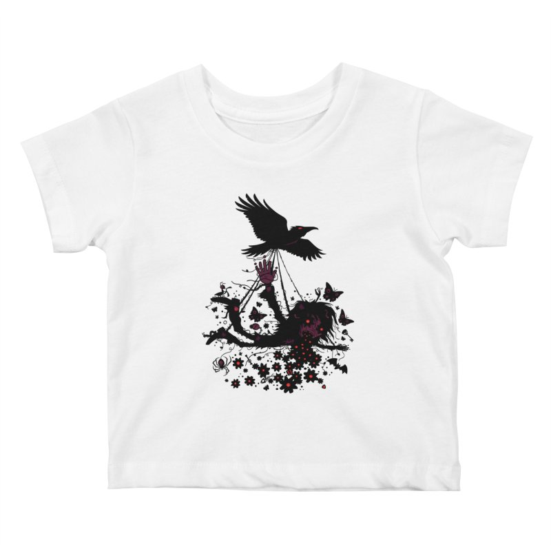 To The Sky Kids Baby T-Shirt by Fizzgig's Artist Shop