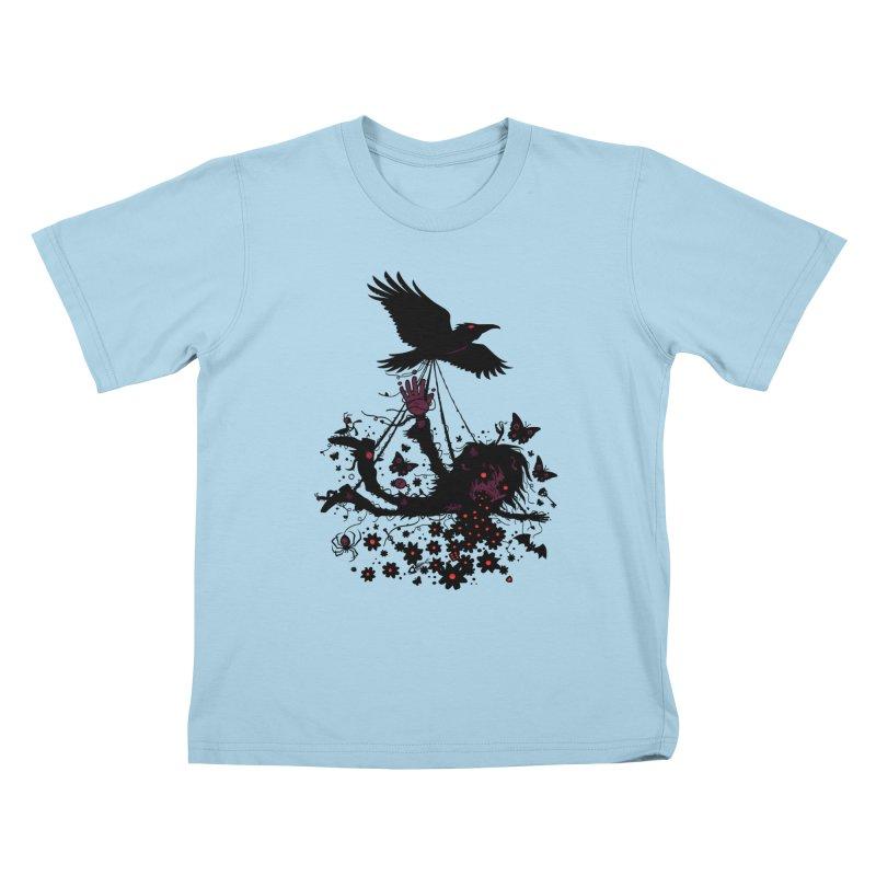 To The Sky Kids T-shirt by Fizzgig's Artist Shop