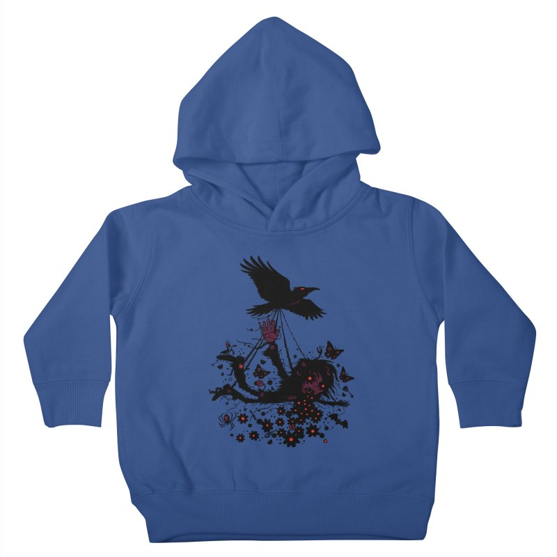 Strange Trip Through The Sky Kids Toddler Pullover Hoody by Fizzgig's Artist Shop