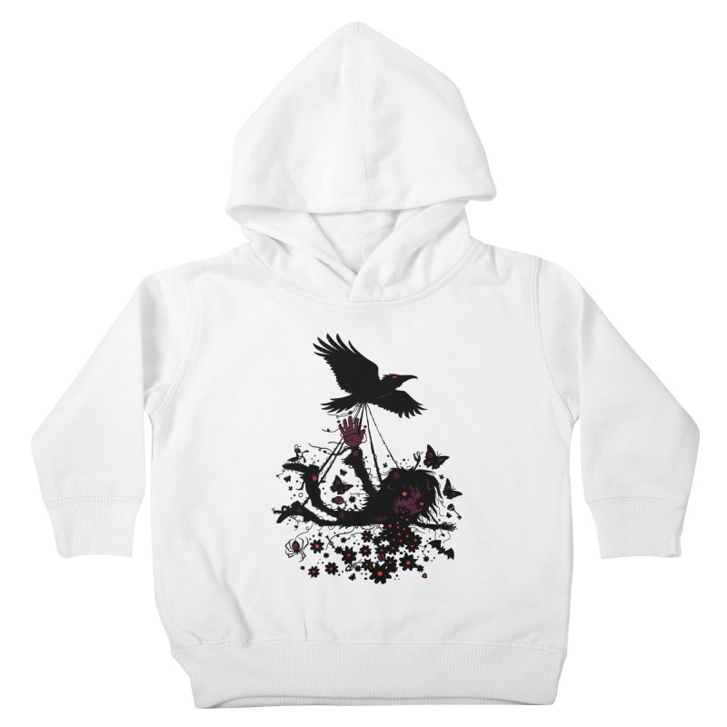 To The Sky Kids Toddler Pullover Hoody by Fizzgig's Artist Shop