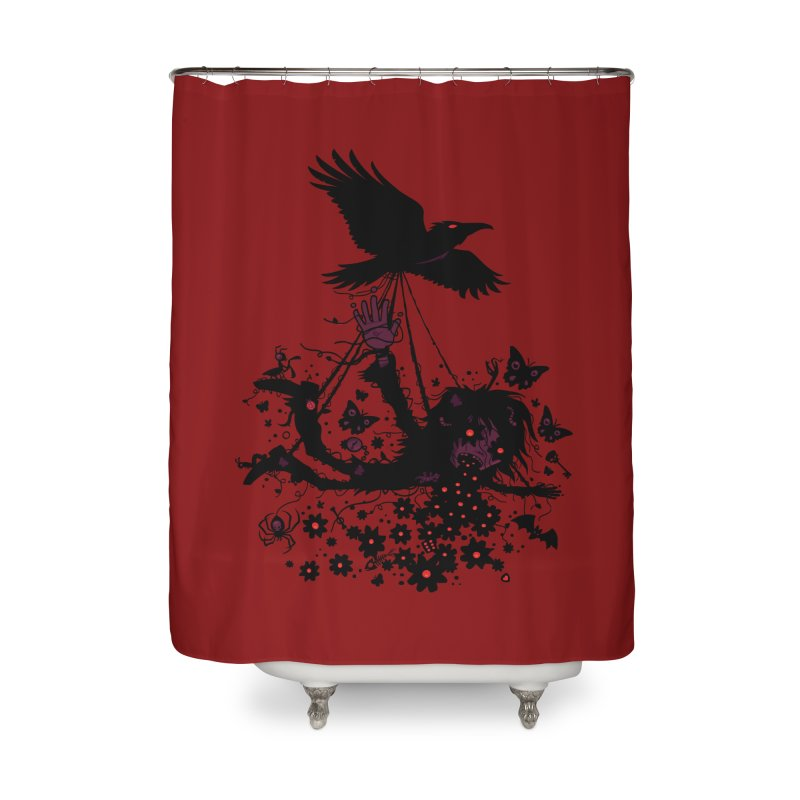 Strange Trip Through The Sky Home Shower Curtain by Fizzgig's Artist Shop