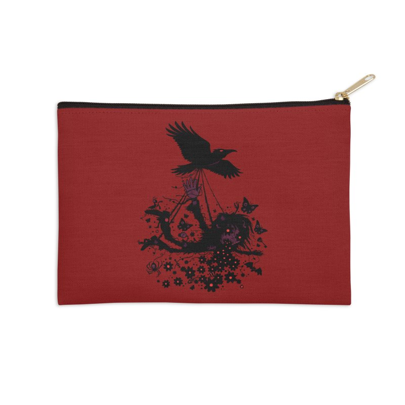 To The Sky Accessories Zip Pouch by Fizzgig's Artist Shop