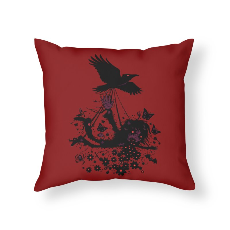 To The Sky Home Throw Pillow by Fizzgig's Artist Shop