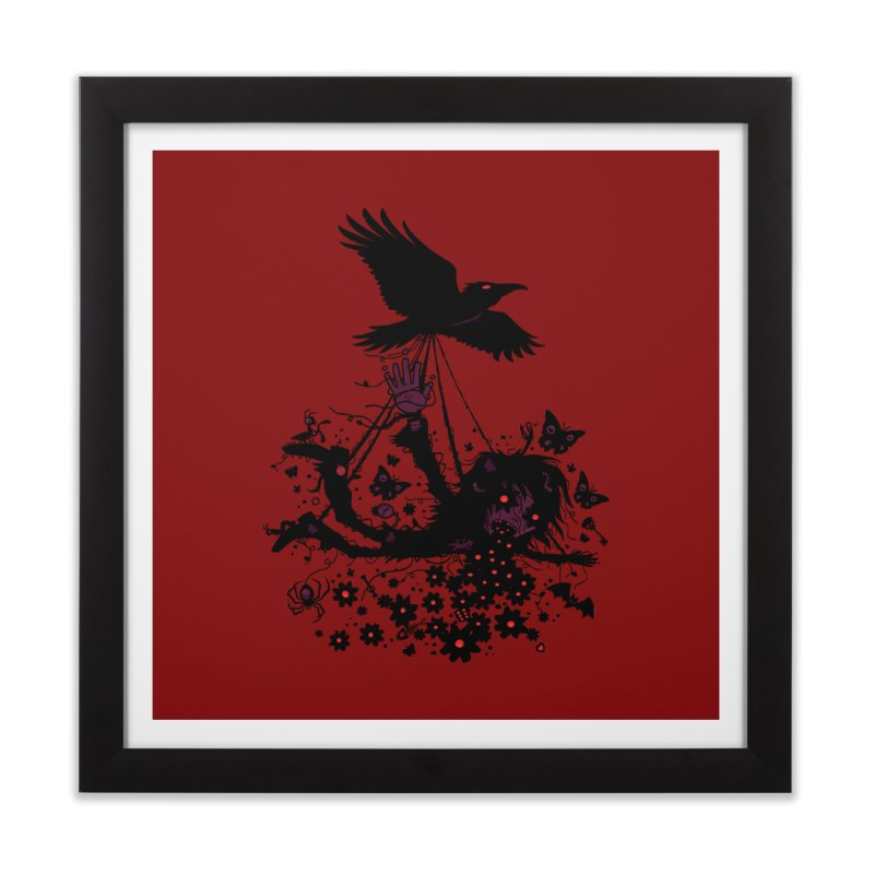Strange Trip Through The Sky Home Framed Fine Art Print by Fizzgig's Artist Shop