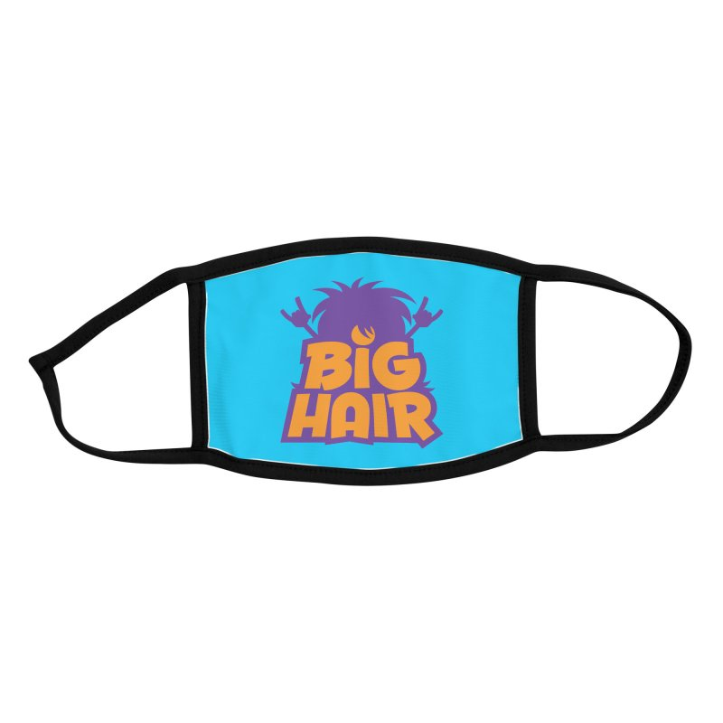 Big Hair Band Logo Accessories Face Mask by Fizzgig's Artist Shop