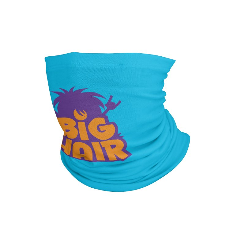 Big Hair Band Logo Accessories Neck Gaiter by Fizzgig's Artist Shop