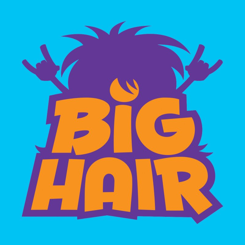 Big Hair Band Logo Home Blanket by Fizzgig's Artist Shop