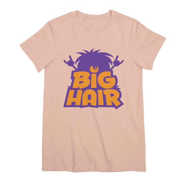 Big Hair Band Logo Women's T-Shirt by Fizzgig's Artist Shop