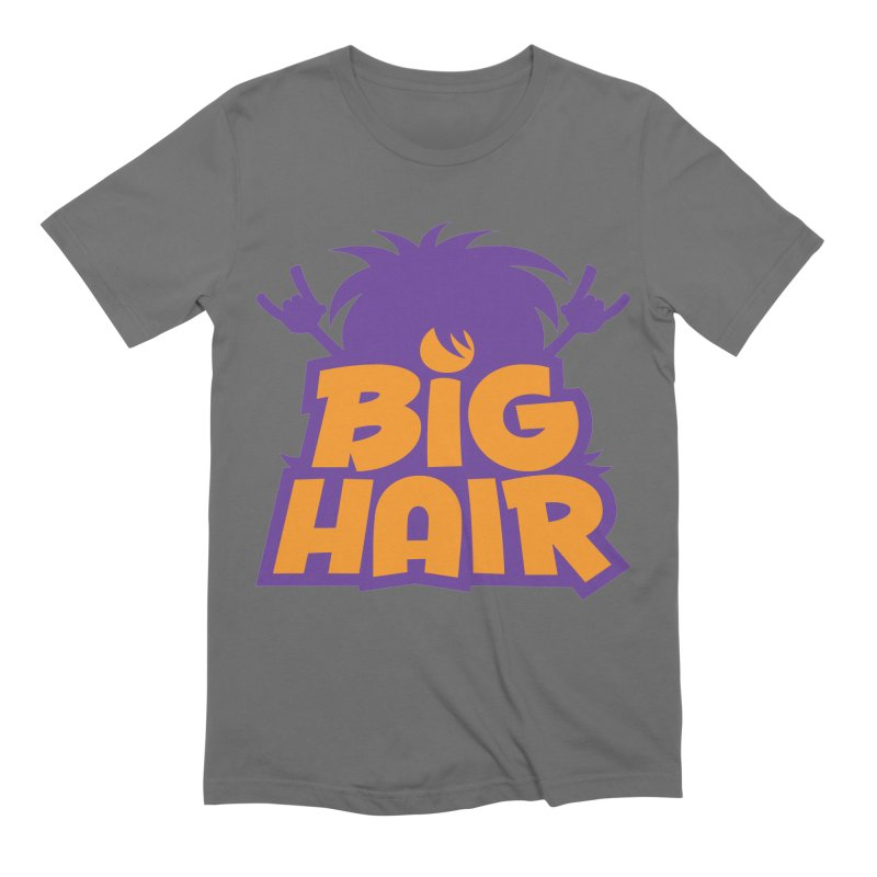 Big Hair Band Logo Men's T-Shirt by Fizzgig's Artist Shop