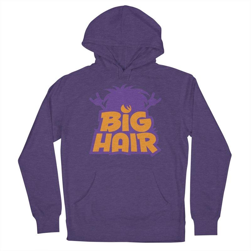 Big Hair Band Logo Women's Pullover Hoody by Fizzgig's Artist Shop
