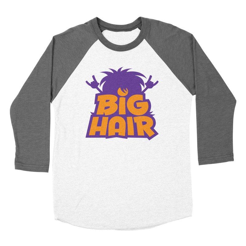 Big Hair Band Logo Women's Longsleeve T-Shirt by Fizzgig's Artist Shop