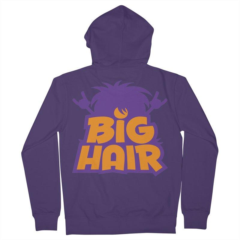 Big Hair Band Logo Women's Zip-Up Hoody by Fizzgig's Artist Shop